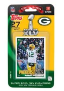 2010 Topps Aaron Rodgers Super Bowl XLV Card