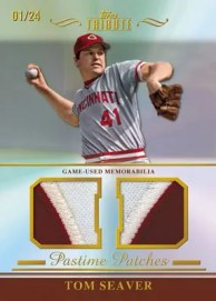 2011 Topps Tribute Tom Seaver Pastime Patches Relic
