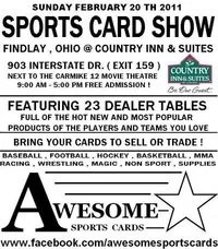 Awesome Card Show Ohio