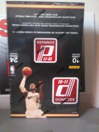 2010/11 Panini Donruss Basketball Hobby Box