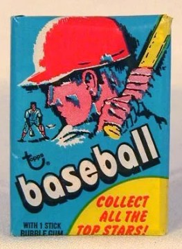 1971 Topps Baseball Wax Pack