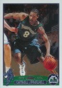 03/04 Topps Chrome Latrell Sprewell Base Card