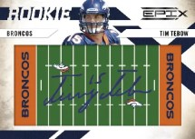 2010 Tim Tebow RPS Signature Rookie