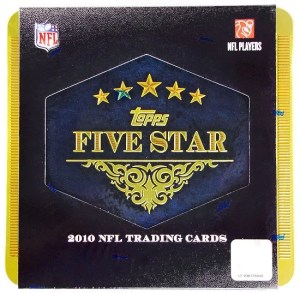 2010 Topps Five Star Football Hobby Box