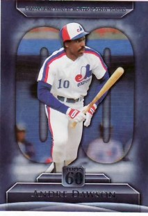 2011 Topps 60 Andre Dawson Insert Card #T60-2