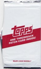 2011 Topps Throwback Patch Card Pack