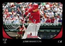 2011 Bowman Josh Hamilton