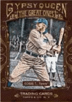 2011 Topps Gypsy Queen Ty Cobb The Great Ones