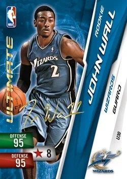 Panini NBA adrenalyn xl 2011 richard Jefferson special