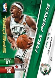 2010/11 Adrenalyn Paul Pierce Special Series 2