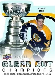 2010/11 Upper Deck Bobby Orr Clear Cut Champions