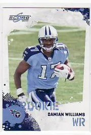 2010 Score Football Damian Williams RC