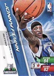 2010-11 Adrenalyn NBA Series 2 Jonny Flynn Special Free Code