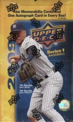 2009 Upper Deck Baseball Hobby Box