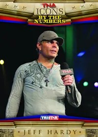 2010 TNA Icons Jeff Hardy By The Numbers