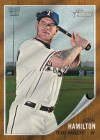 2011 Topps Heritage Josh Hamilton Card