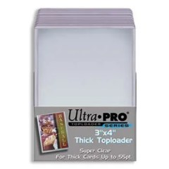 Ultra Pro 3x4 Thick Top Loader Standard Card Size Holder