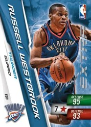 10/11 Adrenalyn Russell Westbrook Adrenalyn Series 2
