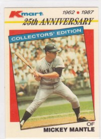 1987 K-Mart Mickey Mantle 25th Anniversary