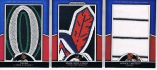 2010 Topps Triple Threads JUMBO JERSEY PATCH #d 1/1