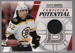 2010/11 Certified Zach Hamill Potential Jersey