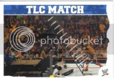 2010 Slam Attax Mayhem TLC Match Card