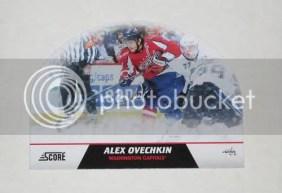 2010/11 Score Alexander Ovechkin Snow Globe