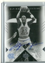2010/11 Ultimate Michael Jordan Autograph