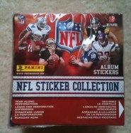2010 Panini Stickers NFL Box