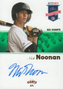 2008 TriStar Projections Nick Noonan Autograph