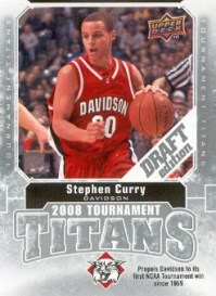 2009/10 Upper Deck Draft Edition Stephen Curry Tournament Titans