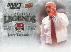 2009/10 Upper Deck Draft Edition Jerry Tarkanian Coach