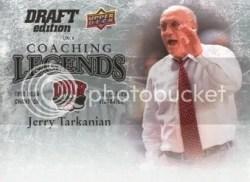 2009/10 Upper Deck Draft Edition Jerry Tarkanian Coach