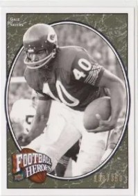 2008 Upper Deck UD Heroes Gale Sayers Legend