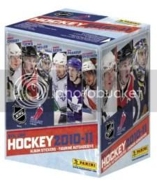 2010/11 Panini NHL Stickers Hockey Box