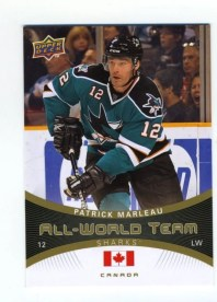 2010/11 Upper Deck Patrick Marleau All World Team