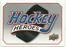 2010/11 Upper Deck Steve Yzerman Heroes Header