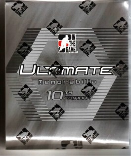 10/11 ITG Ultimate 10 Hockey Box