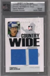 10/11 ITG Ultimate Teemu Selanne Country Wide