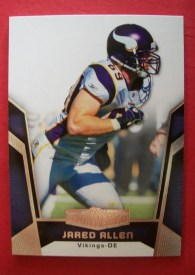 2010 Topps Unrivaled Jared Allen Base Card
