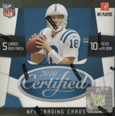 2010 Panini Certified Football Hobby Box