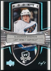 2005-06 The Cup BLACK RAINBOW ALEXANDER OVECHKIN RC 1/1