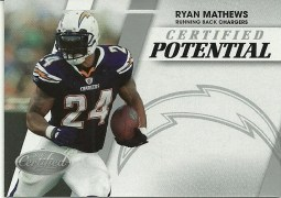 2010 Panini Certified Potential Ryan Mathews