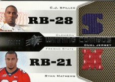 2010 Upper Deck Spx Winning Combox Spiller/Mathews