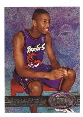1997/98 Tracy McGrady Skybox Metal Rookie RC