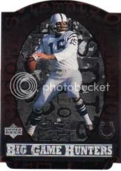 1997 UD Legends Earl Morall Big Game Hunters
