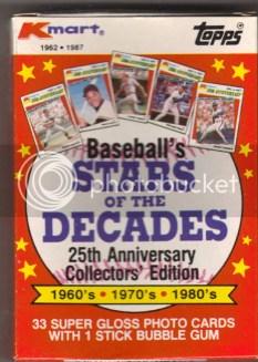 1987 K-Mart Topps Baseball Card Set