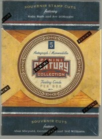 2010 Panini Americana Century Collection Box
