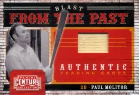 2010 Panini Century Paul Molitor Blast From the Past Bat