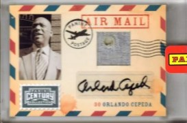 2010 Century Collection Orlando Cepeda Auto Air Mail 1/1